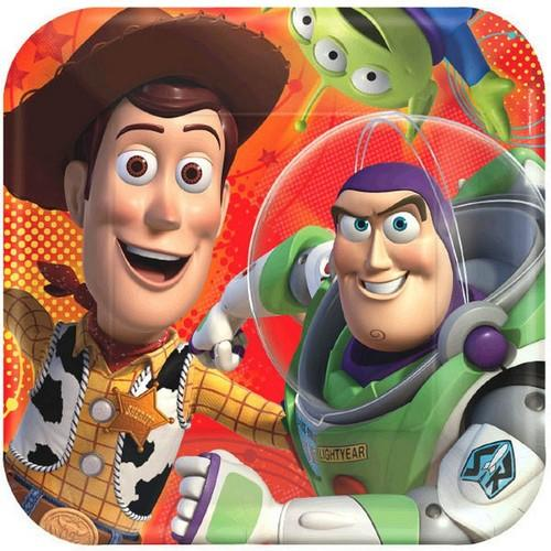 Toy Story Power Up 9 Inch Dinner Plates [8 per Pack]