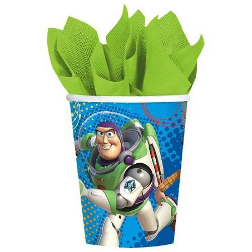 Toy Story Power Up 9oz Party Cups [8 per Pack]