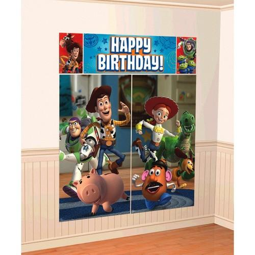 Toy Story Power Up Scene Setters Wall Decorating Kit
