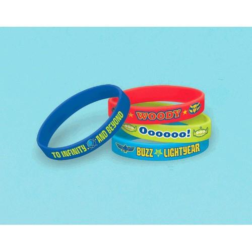 Toy Story Power Up Rubber Bracelets [4 per Package]