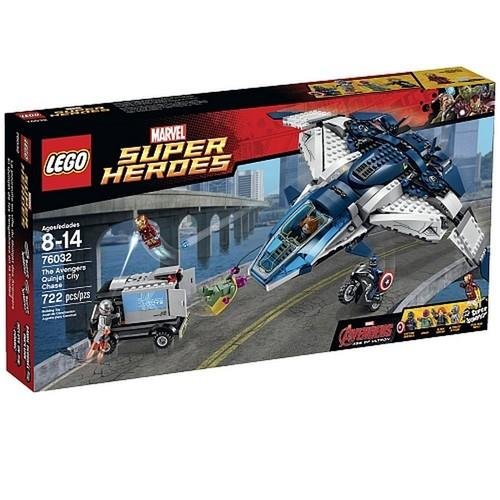 LEGO Super Heroes The Avengers Quinjet City Chase [76032 - 722 Pieces]
