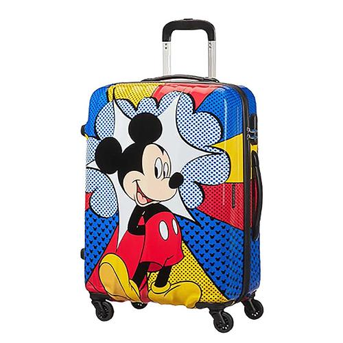 American Tourister 19 Inch Mickey Flash Pop Carry-On Suitcase Luggage