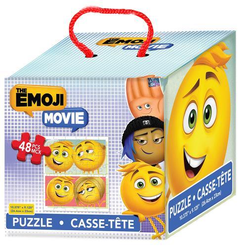 The Emoji Movie - 48 Piece Puzzle in Cube