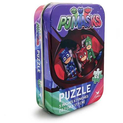PJ Masks 24-Piece Puzzle in Mini Tin Box