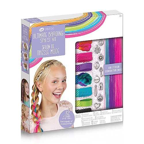 Crayola - Crayola Creations Ultimate Braiding Stylist Kit