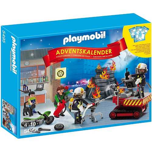 Playmobil Fire Rescue Operation Advent Calendar [5495]