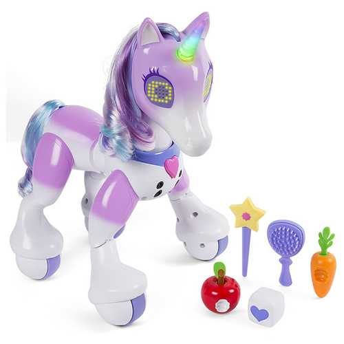 Zoomer Enchanted Unicorn Exclusive Interactive Toy
