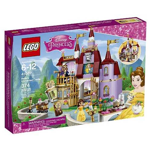 LEGO Disney Princess - Belle's Enchanted Castle [41067 - 374 Pieces]