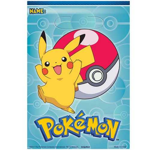 Pokemon Loot Bags [8 Per Pack]