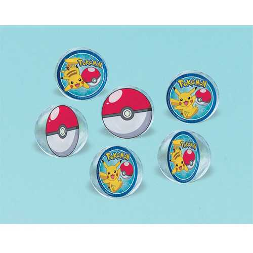 Pokemon Bounce Balls [6 per Pack]