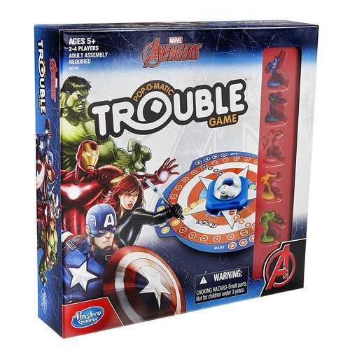 Marvel Avengers in Trouble Game