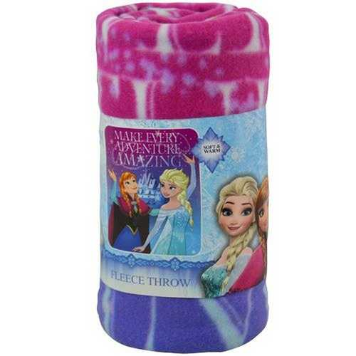 Disney Frozen Fleece Throw [Make Every Adventure Amazing]