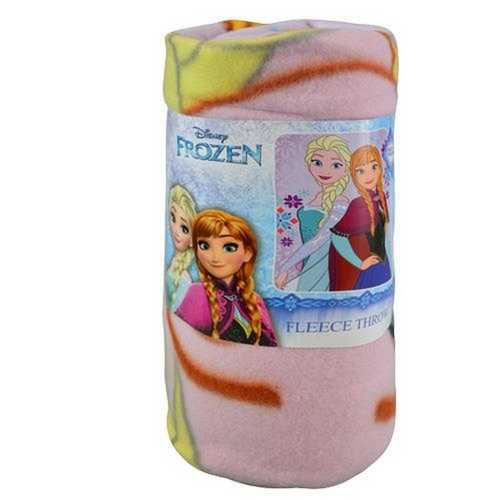 Disney Frozen Fleece Throw [Light Pink]