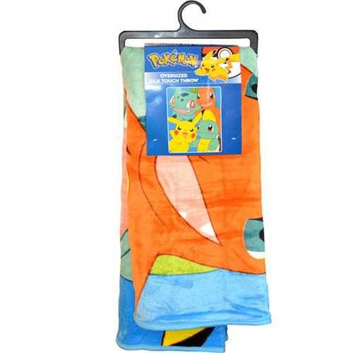 Pokemon Oversized Silk Touch Throw