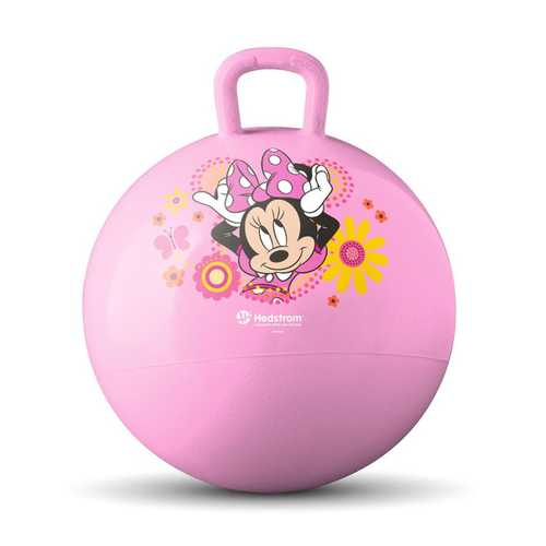 Disney Minnie Mouse Hopper Ball - 15 inch Pink