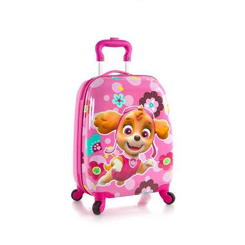 Nickelodeon Kids Spinner Luggage - PAW Patrol - Pink