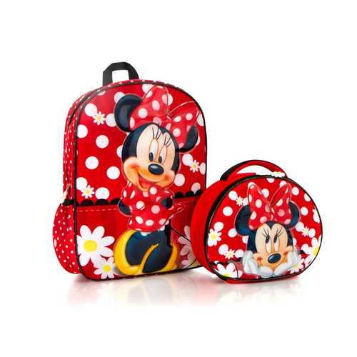 Disney Backpack with Lunch Bag Set - Minnie Mouse