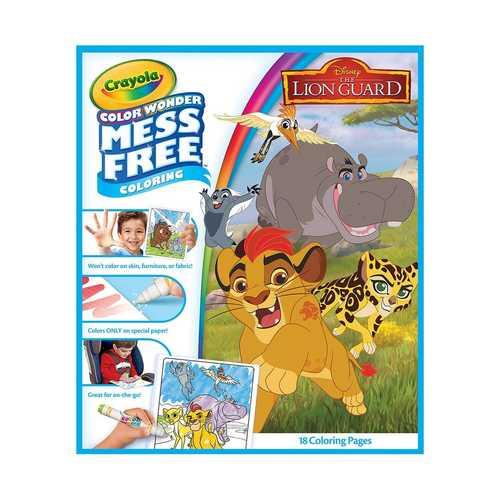 Crayola Color Wonder Book - Lion Guard