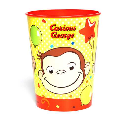 Curious George 16 oz Plastic Cup