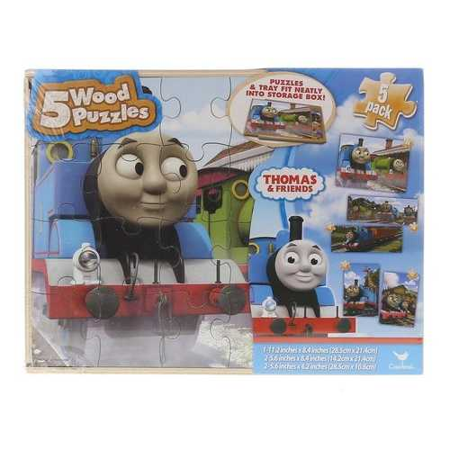 Thomas & Friends 5 Wood Puzzle Set