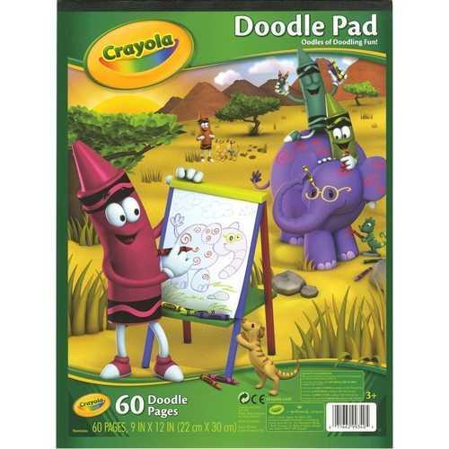 Crayola 60 Page Doodle Pad