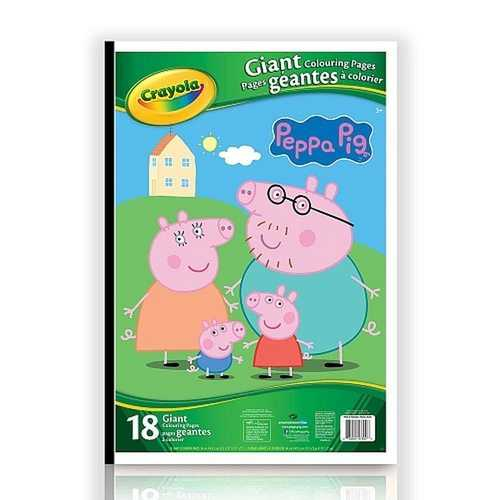 Crayola Peppa Pig Giant Coloring Book