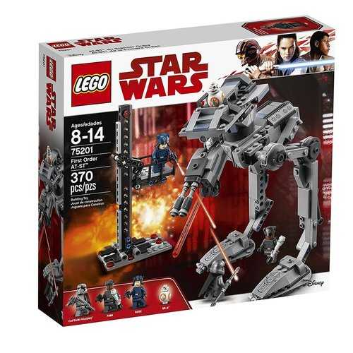 LEGO Star Wars First Order AT-ST [75201- 370 Pieces]