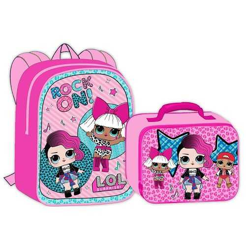 LOL Surprise Backpack and Lunch Bag Set