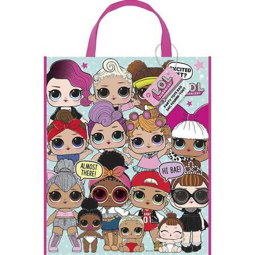 LOL Surprise! Plastic Tote Bag
