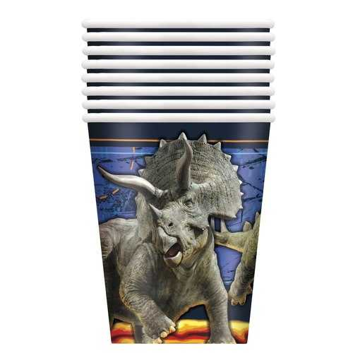 Jurassic World 9 oz Paper Cups [8 Per Package]