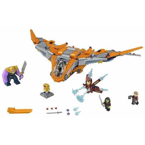 LEGO Marvel Super Heroes - Thanos: Ultimate Battle [76107 - 674 Pieces]