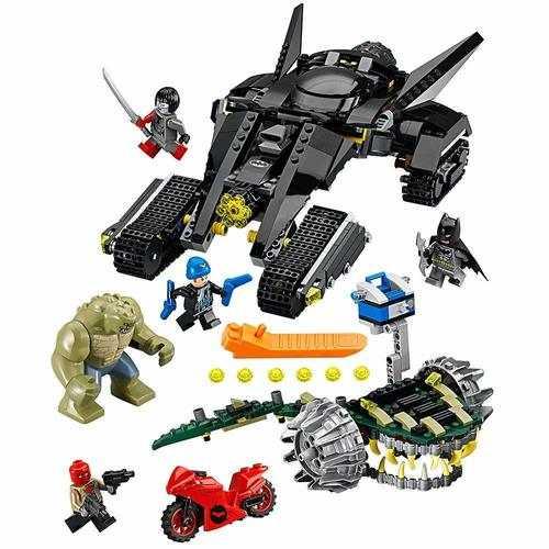 LEGO DC Super Heroes Batman: Killer Croc Sewer Smash Building Kit [76055 - 759 pcs]