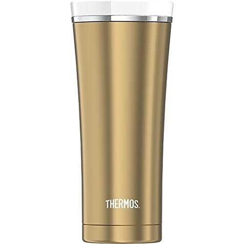 Thermos Sipp 16 Ounce Stainless Steel Vacuum Insulated Travel Tumbler - Gold