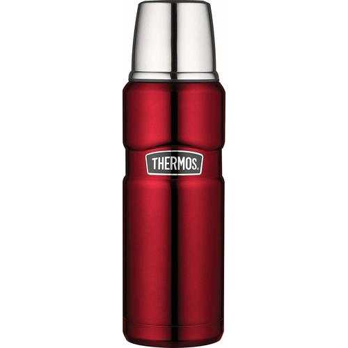 Thermos Stainless Steel King 16 Ounce Compact Bottle - Cranberry