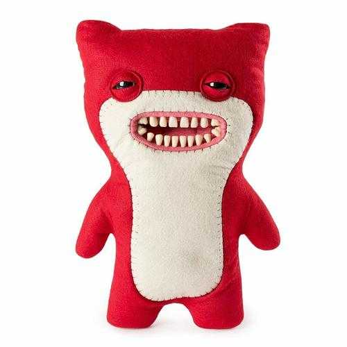 Deluxe Fuggler - Funny Ugly Monster - Red - 12 Inches