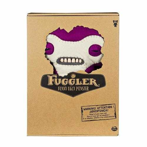 Deluxe Fuggler - Funny Ugly Monster - 12 Inches - Lil' Demon Deluxe Plush Creature with Teeth - Purple