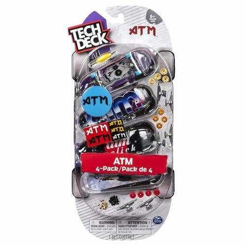 Tech Deck 96MM Fingerboards - 4-Pack - ATM