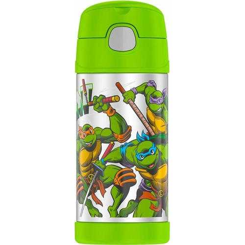 Thermos Funtainer 12 Ounce Bottle Teenage Mutant Ninja Turtles
