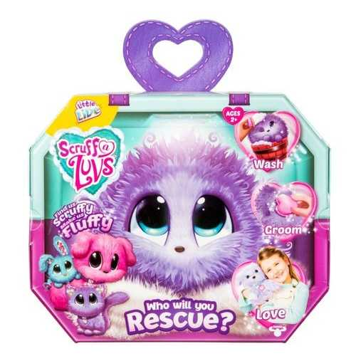 Little Live Pets Scruff a Luvs - Purple - Lilac