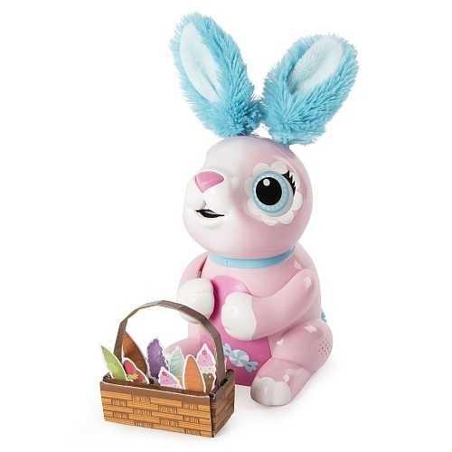 Zoomer - Hungry Bunnies, Shreddy, Interactive Robotic Rabbit that Eats