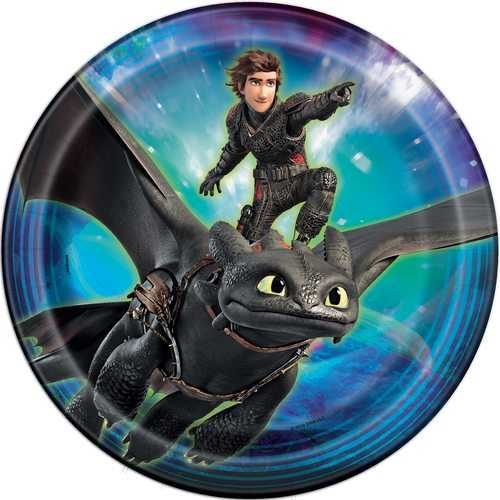 How to Train Your Dragon: The Hidden World - 9 Inch Desert Plates [8 per Pack]