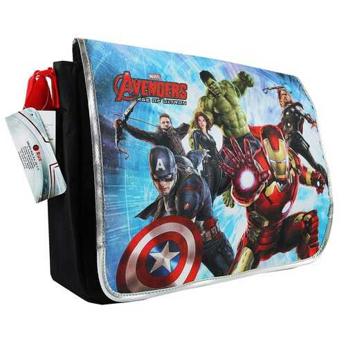 The Avengers Messenger Book Bag