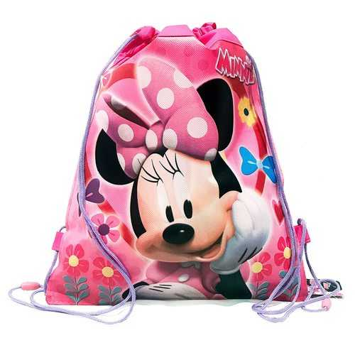 Minnie Mouse Non-Woven Shoe String Bag
