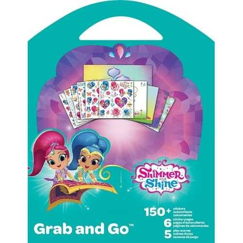 Shimmer and Shine Grab and Go Sticker Book