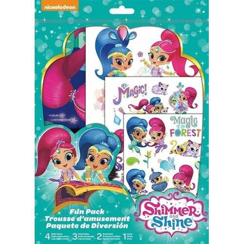 Shimmer and Shine Sticker and Tattoo Fun Pack