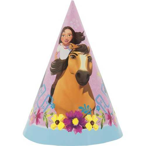 Spirit Riding Free Party Hats [8 per Pack]