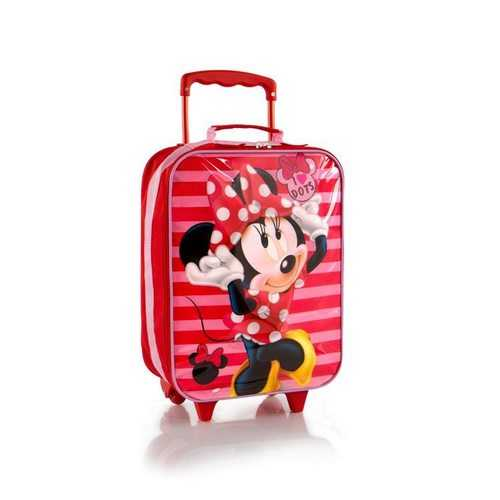 Heys Minnie Mouse Softside Luggage - I Love Dots