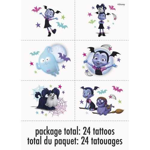 Disney Vampirina Tattoos (1 Package)