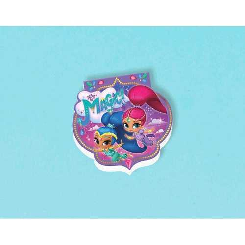 Shimmer and Shine Mini Notepad - 20 Pages