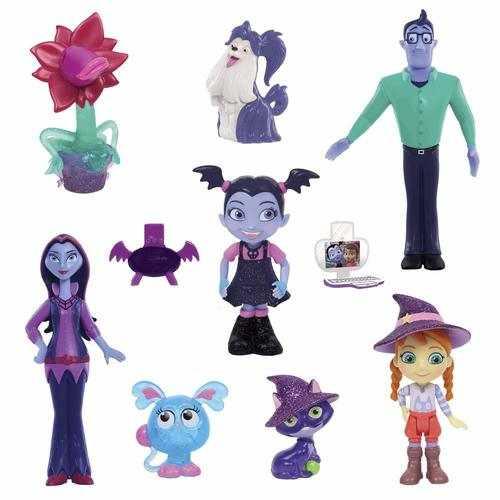 Disney Vampirina - Fangtastic Friends 10 Figure Set